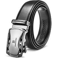 BOSTANTEN Cintura da Uomo In Pelle Belt Fibbia Automatica Cricchetto Cinture