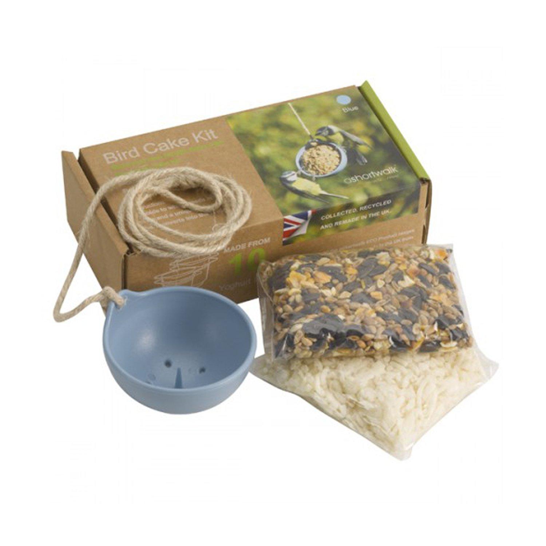 Eco Recycled Bird Feeder - Bird Cake Kit (Red) ashortwalk