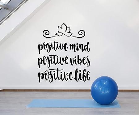 ziweipp Vinilo de Pared de Vinilo Estudio de Yoga Cita ...