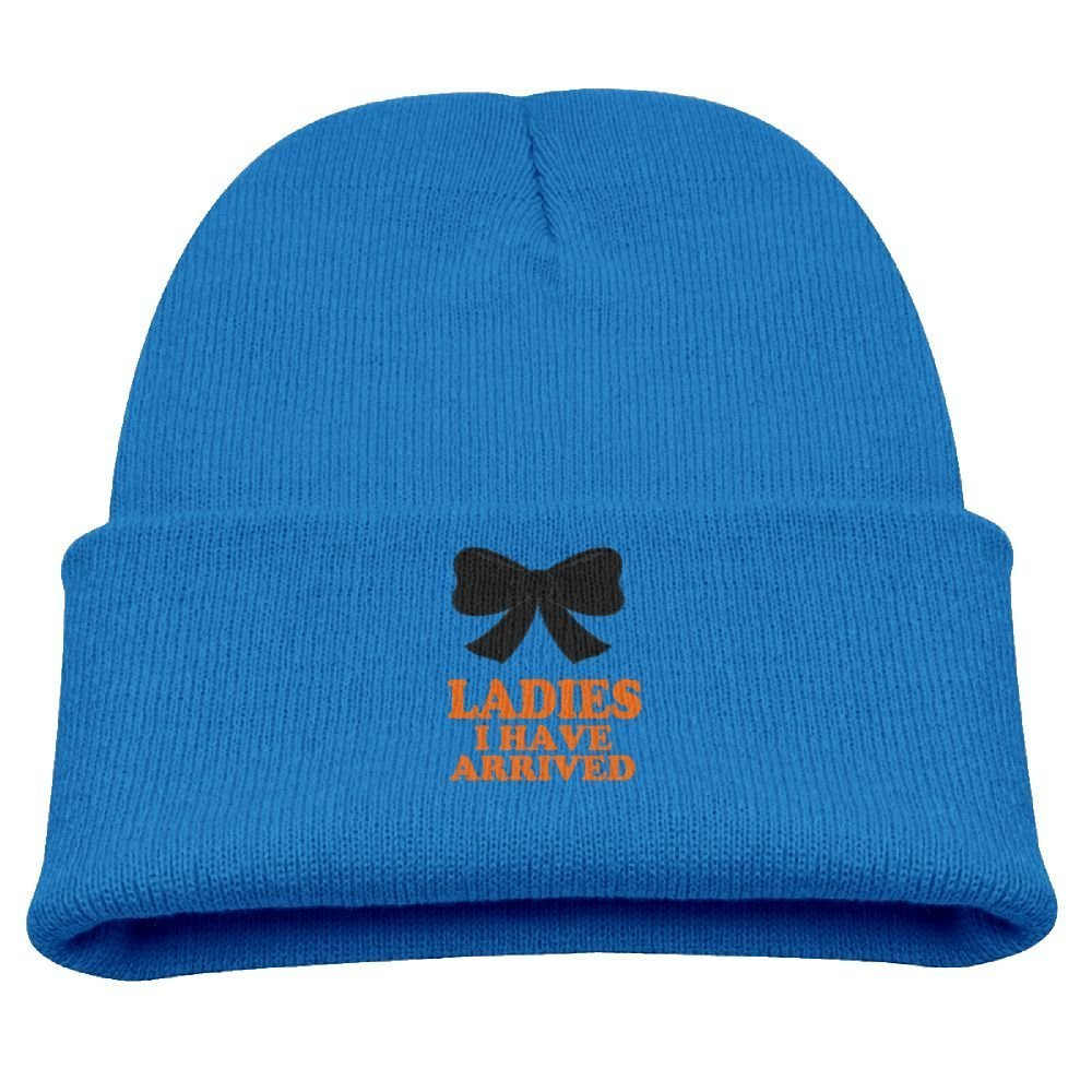 Eveler Ladies I Have Arrived Baby Youth Cute Hat Toddler Infant Baby Cotton Soft Cute Knit Kids Fleece Lined Beanie Hat