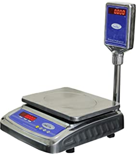 Taj+ 30Kg Digital Table Top Weighing Scale For Retail Shops, Kirana