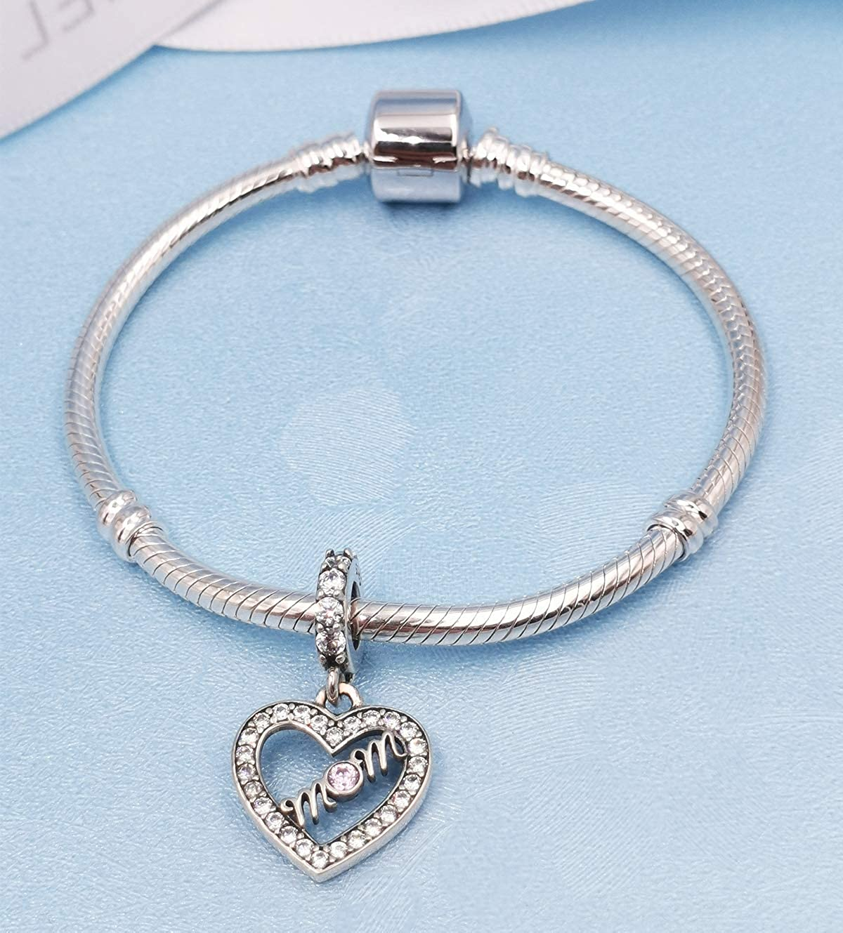 Compatible with European Bracelet XY Jewelry 925 Silver Charm Dangle