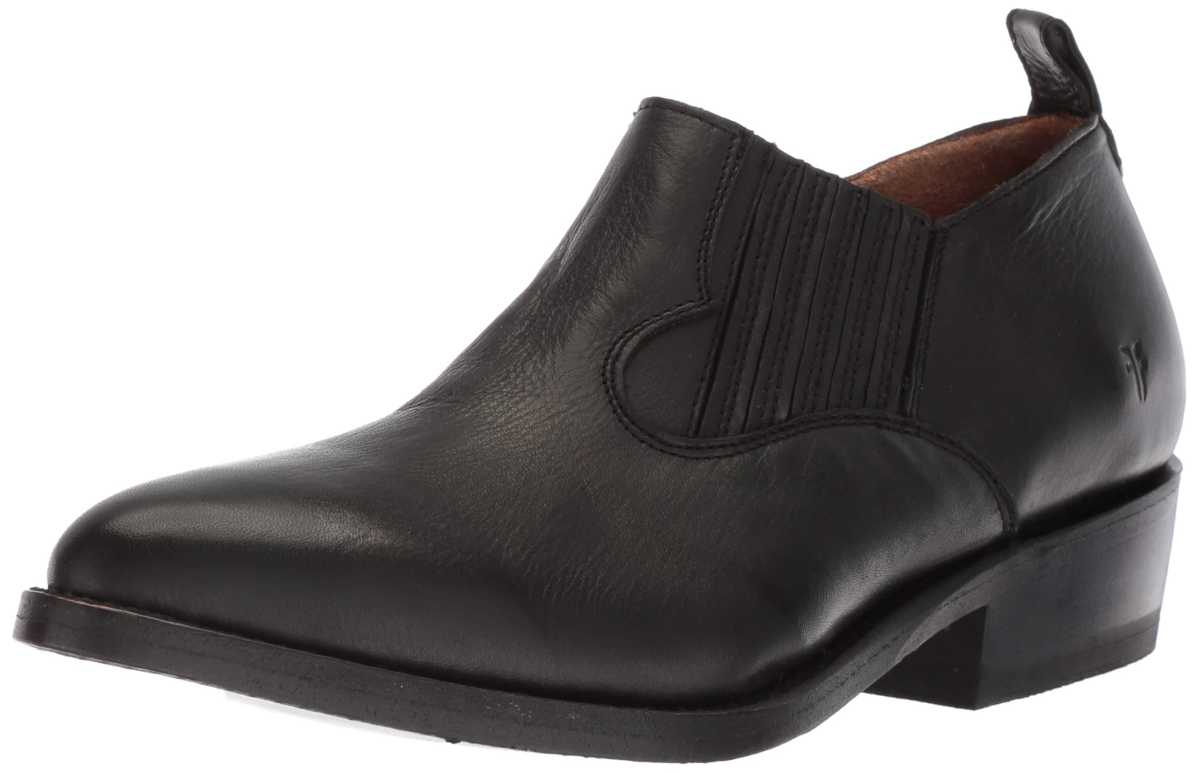 FRYE Women's Billy Shootie Western Boot, Black
