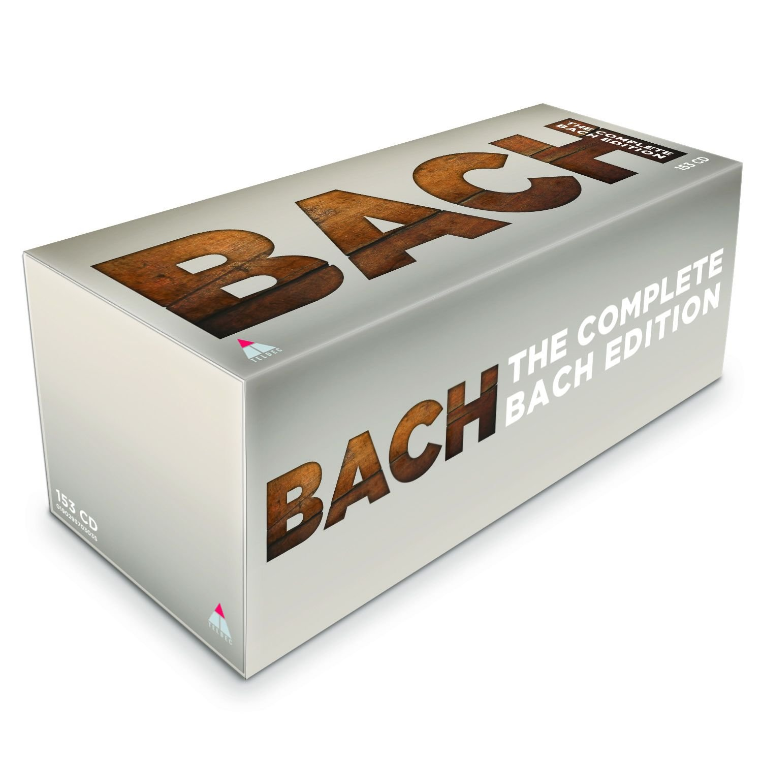 CD : J.S. Bach - Complete Bach Edition 2018 (Boxed Set, O-Card Packaging, 153PC)
