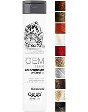 Celeb Luxury Gem Lites Colorditioner: Hair Color Depositing Conditioner, BondFix Bond Rebuilder, Eliminates Unwanted Yellow, Better than Purple Shampoo, Cruelty-Free, 100% Vegan