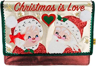 Irregular Choice Christmas Is Love Clutch Bag