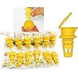 Ecojeannie (CT0001DZ : 12 Pack) Citrus Tap (Patent Pending), Lemon Juicer Faucet , Lime Juicer, Lemon Press Lime Press, Lemon Squeezer Lime Squeezer, Juice Extractor - NO BPA, NO Hormone
