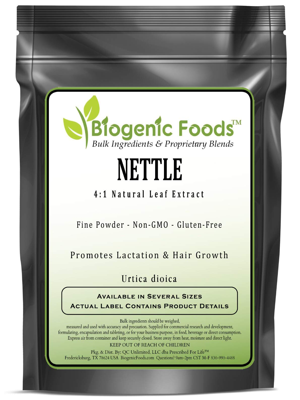 Nettle - 4:1 Natural Leaf Fine Powder Extract (Urtica dioica), 2 kg