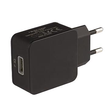 Tecnan Cargador USB 2,4 A Power Iq Fuente Cargador Conector ...