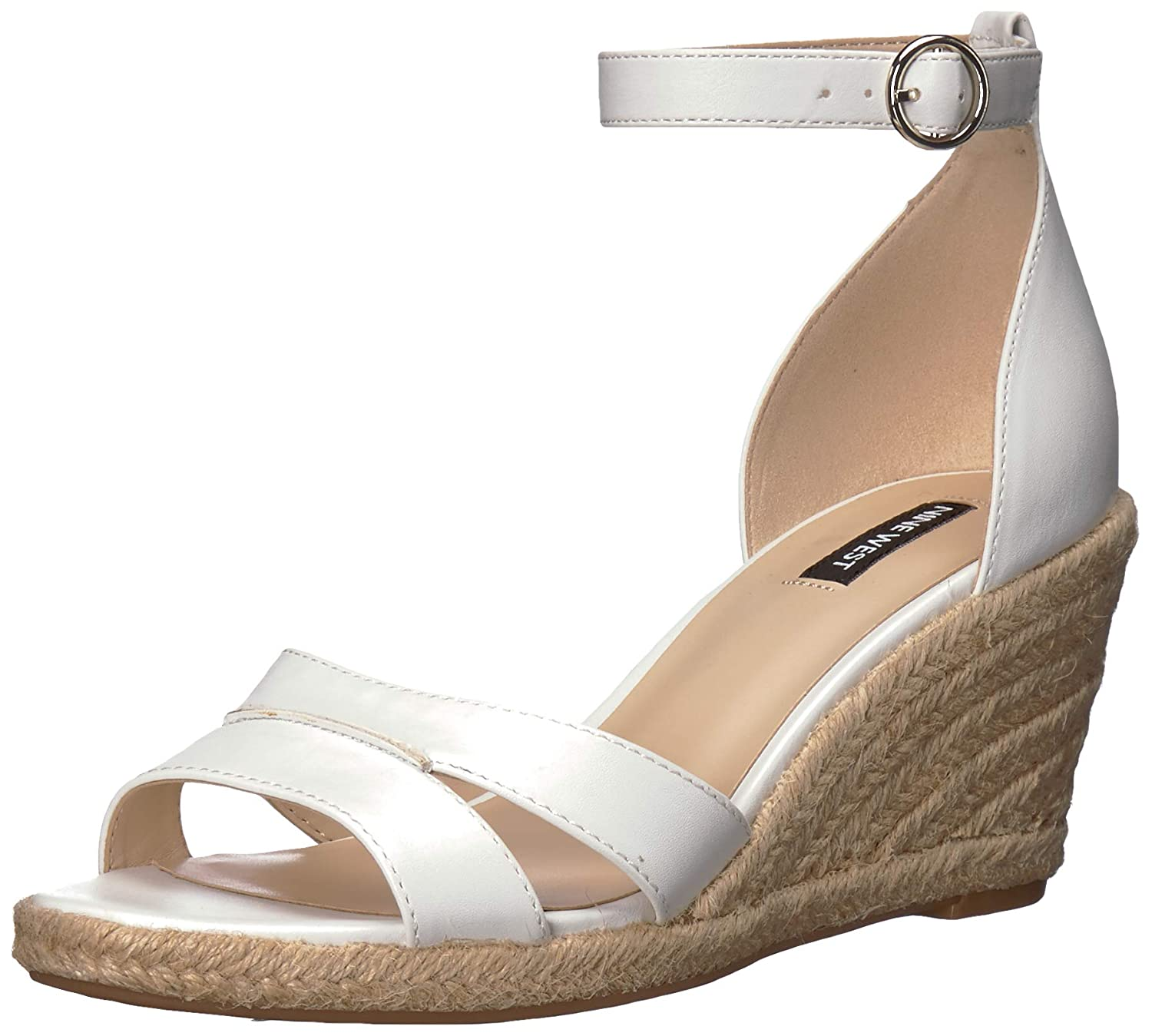 White Nine West Womens Jerana