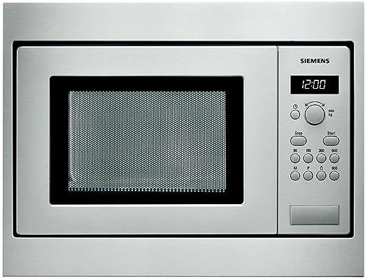 Siemens HF15M552 - Microondas de encastre / integrable, 800 W, 18 ...