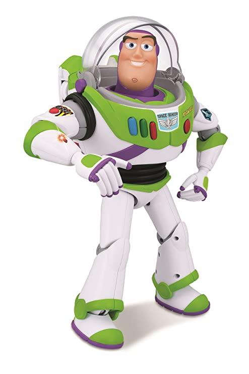 a905e7075e1 Amazon.com  Toy Story Talking Buzz Lightyear  Toys   Games