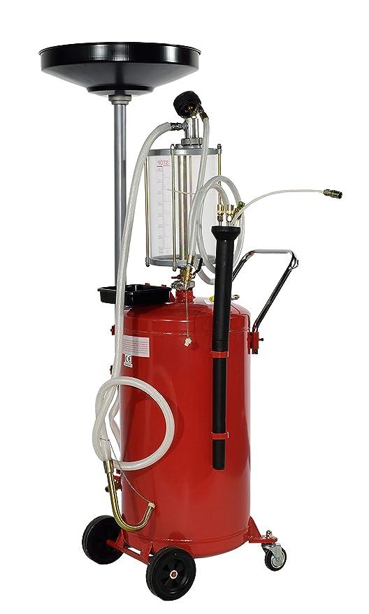 EQTPLACE Recogedor de Aceite por Gravedad con aspersión para talleres