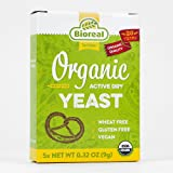 Bioreal Organic Baker's Yeast Packets - 9 g (Pack of 20)