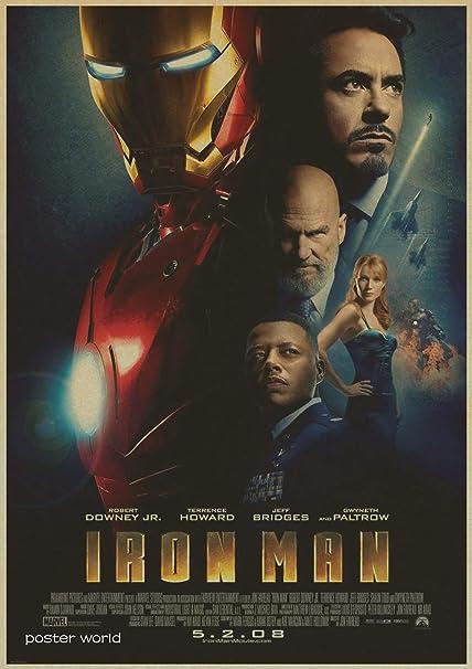 Amazon com: 1 piece vintage Hollywood Movie Poster Adornment