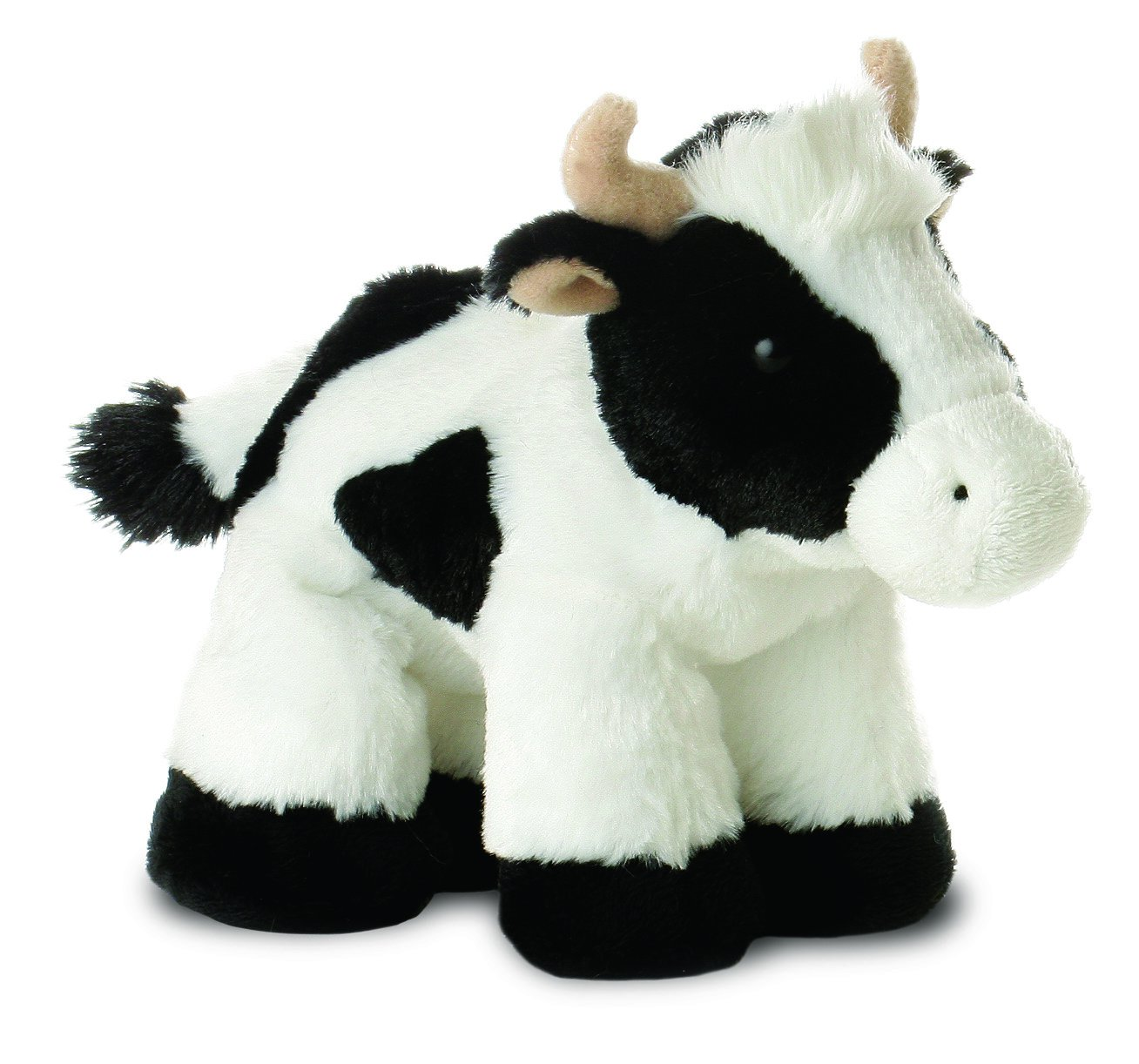 Best Selling Mini Flopsie - Mini Moo Cow Plush Soft Toy Animal - Cuddly & Cute Birthday Gift / Present for Ladies & Women Belair Gifts
