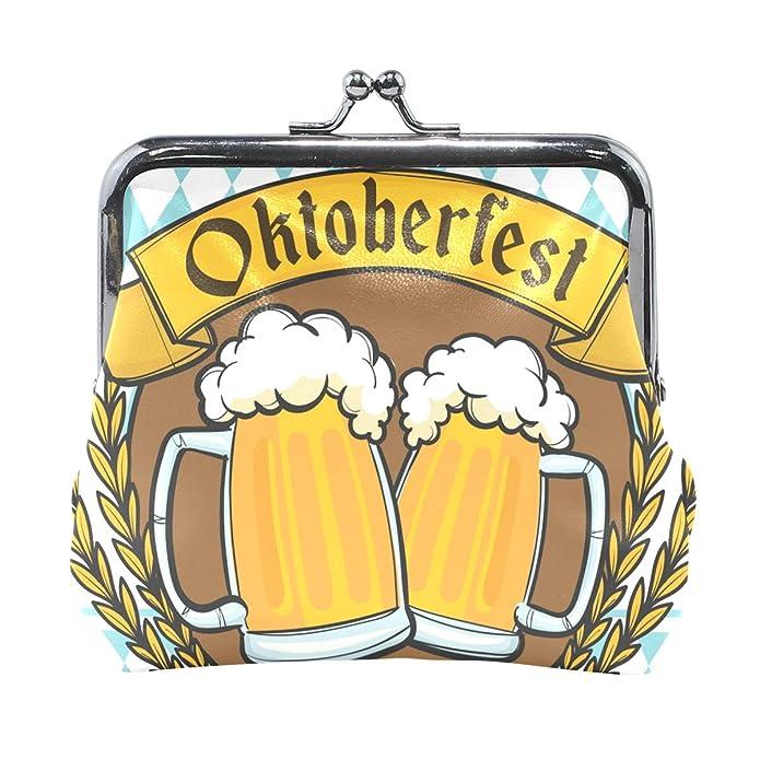 Amazon.com: LALATOP Oktoberfest Insignia Beers - Monedero ...