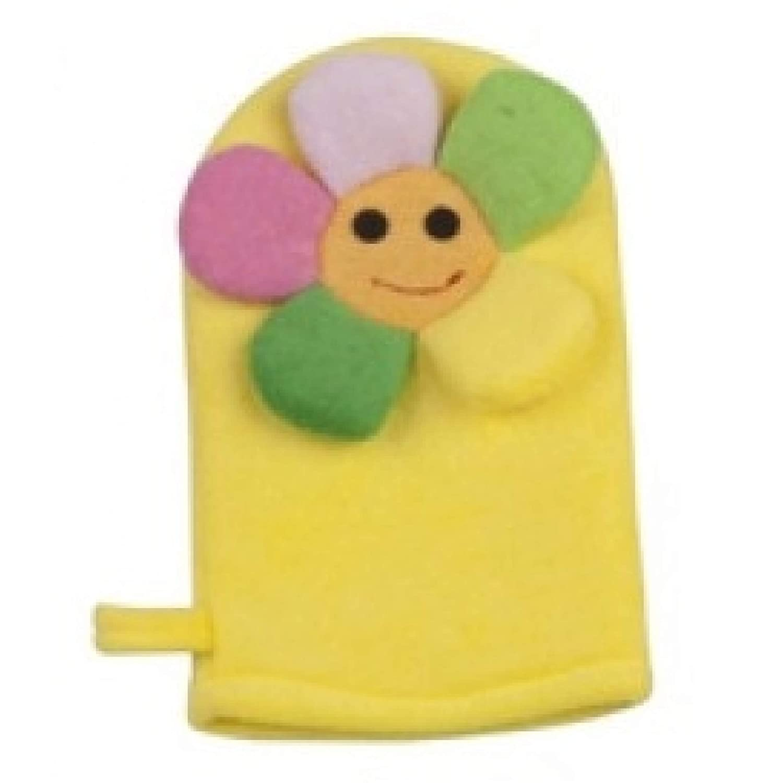 100/% Baumwolle HOME CREATION Baby Badetuch Kapuzenhandtuch mit Waschhandschuh Frosch