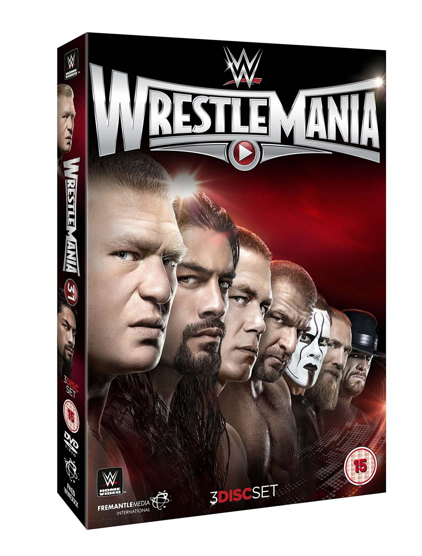 WWE: WrestleMania 31 [DVD] [Reino Unido]: Amazon.es: John Cena, Brock Lesnar, Roman Reigns, Daniel Bryan, John Cena, Brock Lesnar: Cine y Series TV
