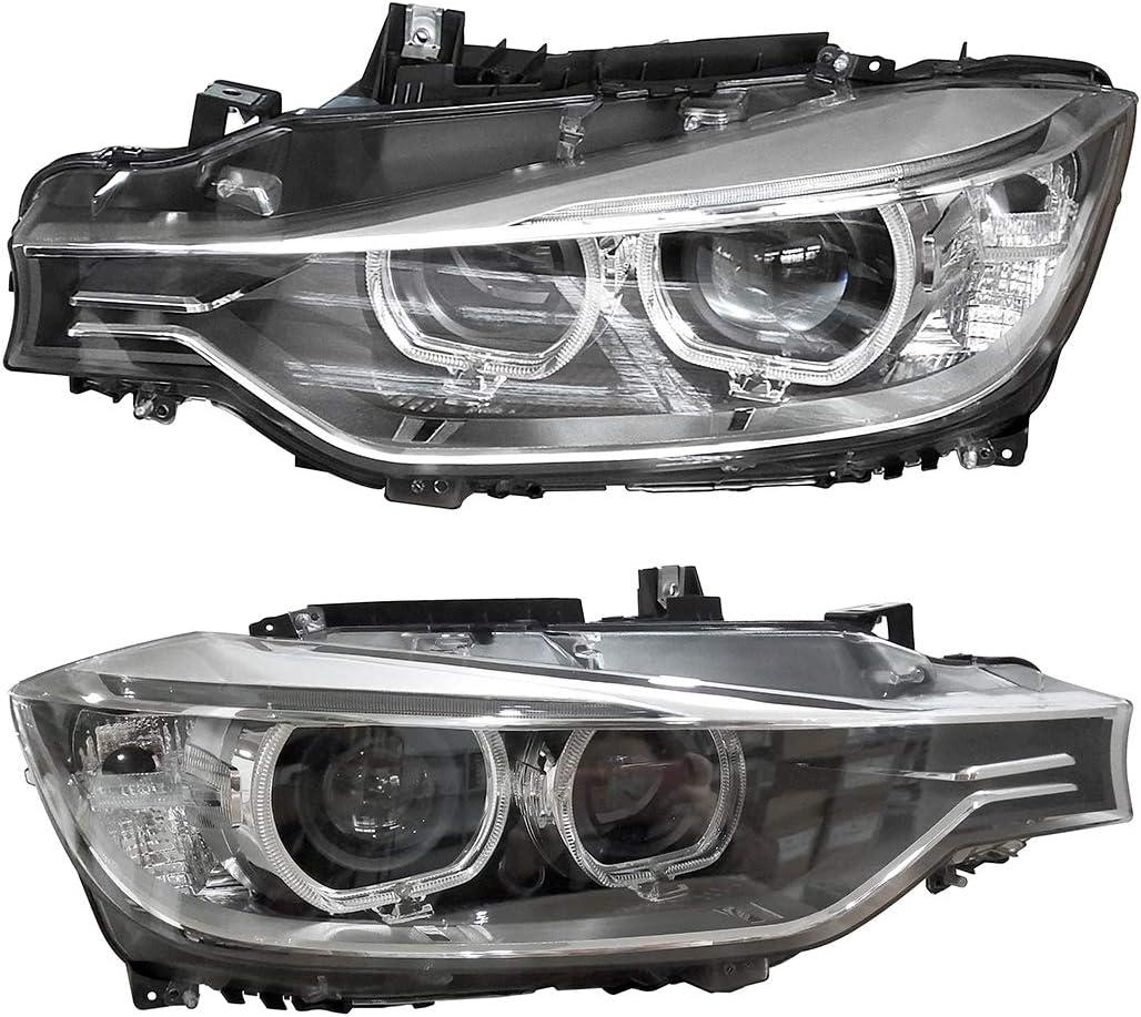 OREALLAMPE 63117339386 HID Xenon Headlight Headlamp Daytime Running Driving Light Lamp Foglight Passenger Side Right for 3 Series F30 2008-2012