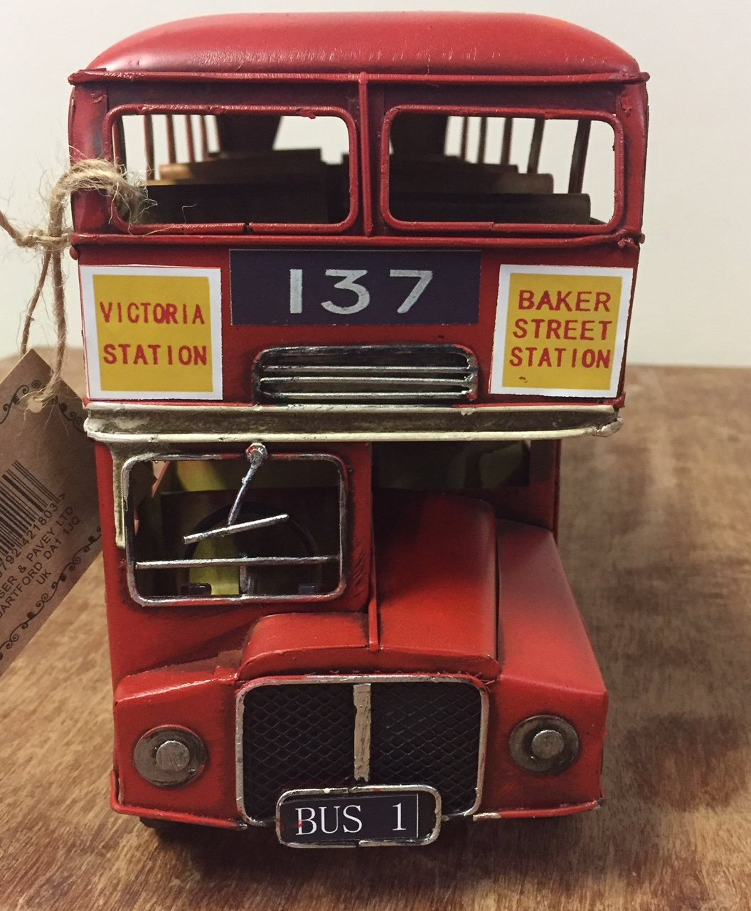 Lesser /& Pavey /à collectionner London Transport Bo/îte Rouge Double Decker Bus de Londres/ /Vintage Collection de transport