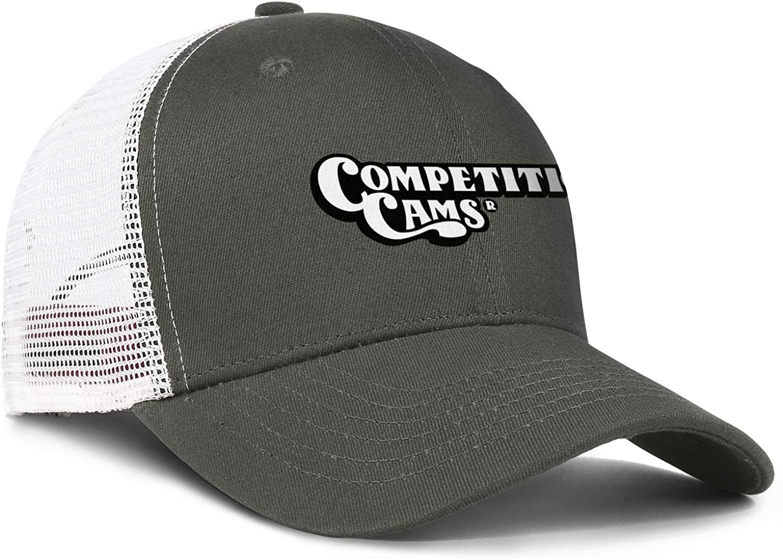 COMP Cams Mens Womens Mesh Back Running Trucker Caps Youth Mesh Cap