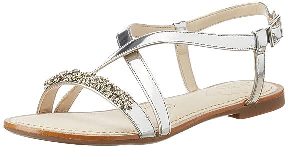 Clarks Women's Leather Fashion Sandals Women's Fashion Sandals at amazon