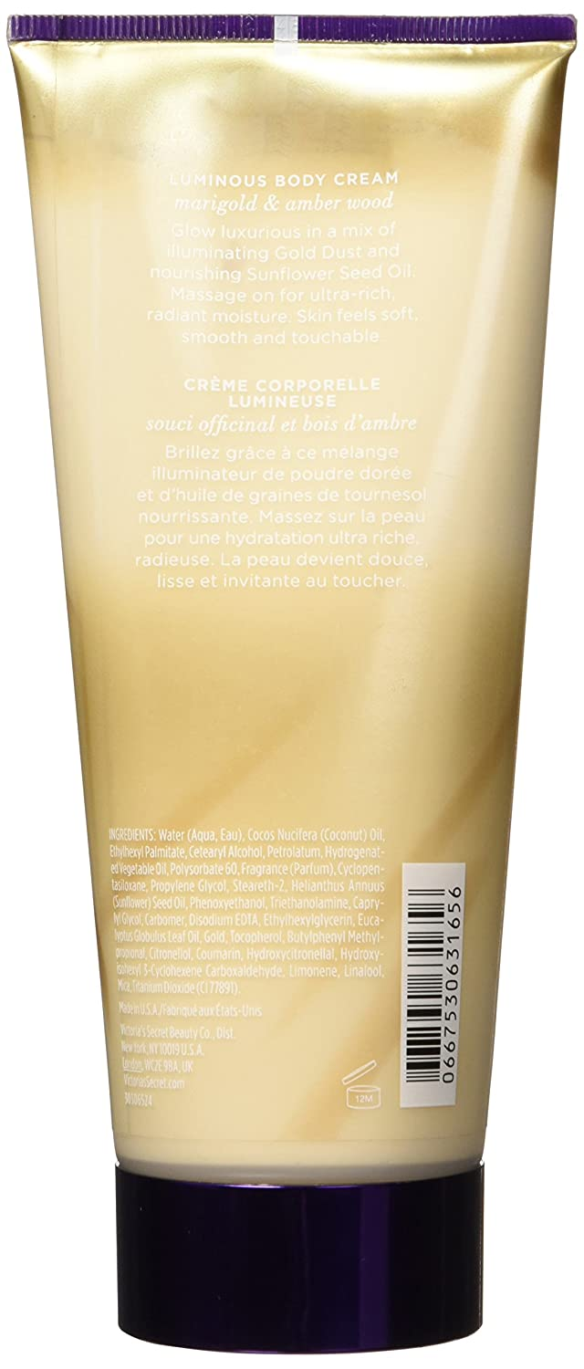 591fbca1eb175 Victoria's Secret Gilded Glow with Gold Dust Luminous Body Cream, 6.7 Ounce