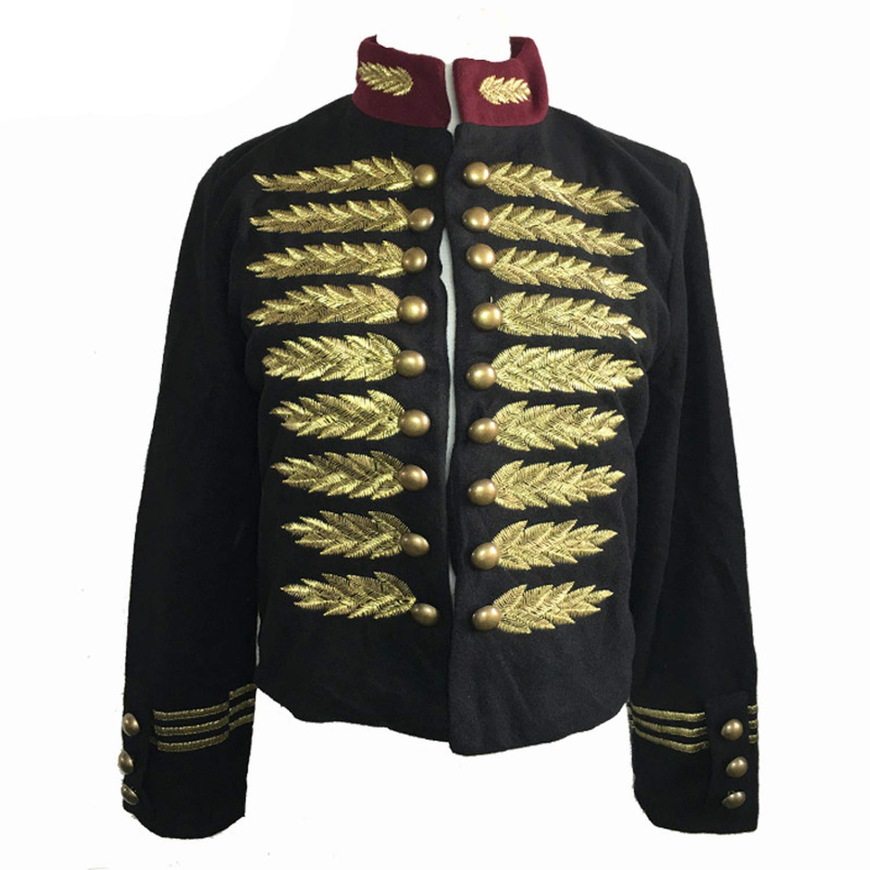 BrandAutumn Paace Tye K ONO Jacket Army Jacket Chaqueta Etnica Mujer at Amazon Mens Clothing store: