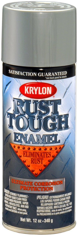 Krylon (K09213007-6 PK) 'Rust Tough' Aluminum Rust Preventive Enamel - 12 oz. Aerosol, (Case of 6)