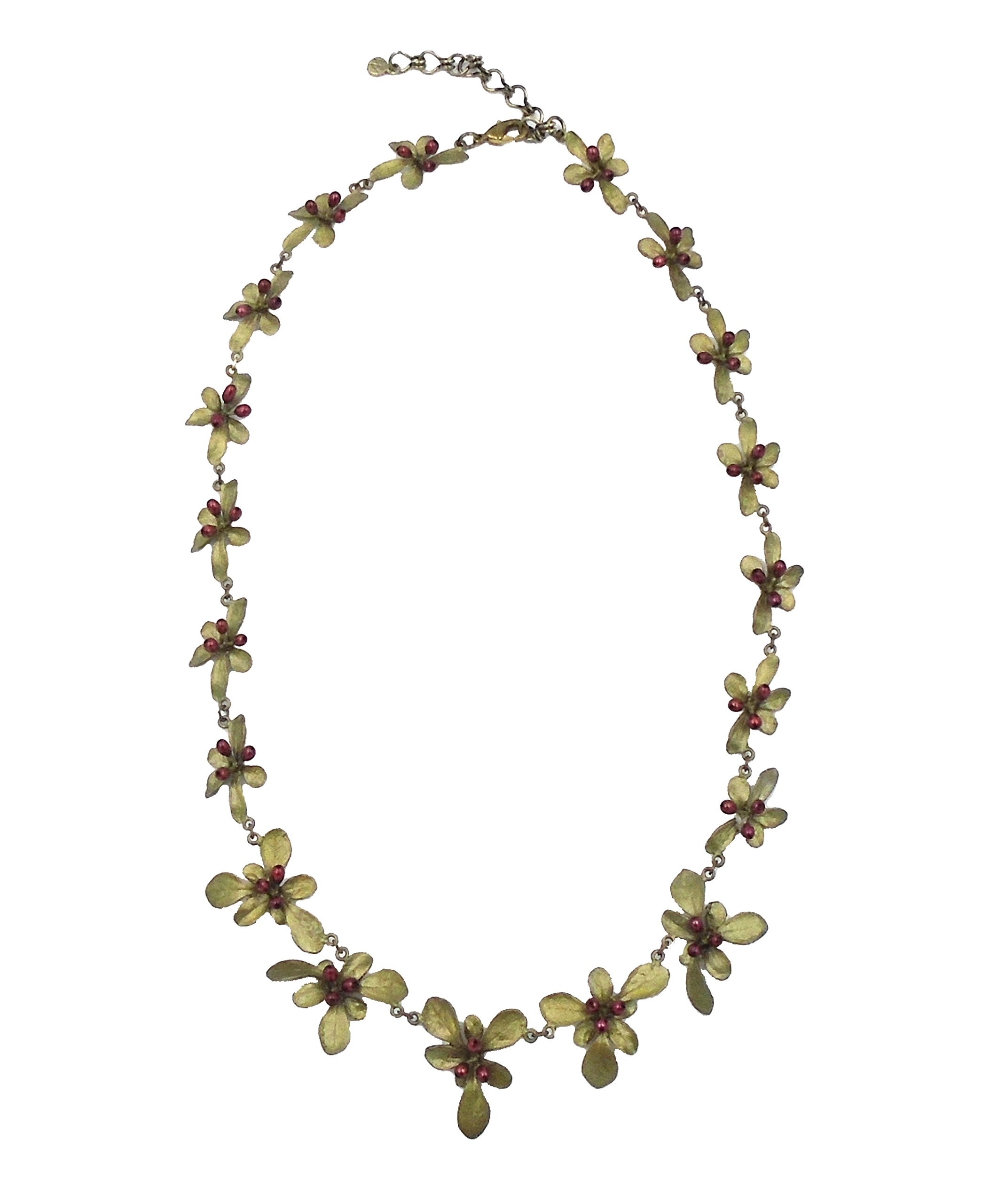 ''Barberry'' Statement Necklace By Michael Michaud (OURS EXCLUSIVELY)…