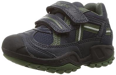 4e25b4929a29b Geox J New Savage A, Sneakers Basses garçon  Amazon.fr  Chaussures ...