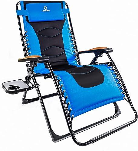 OT QOMOTOP Zero Gravity Lounge Chair - the best outdoor recliner for the money
