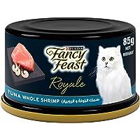 Fancy Feast Purina Royale Tuna Shrimp Cat Food 85g - (Pack of 24)