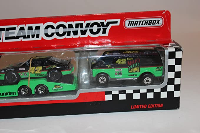 Amazon.com: Qiyun Matchbox Team Convoy Le 1 64 Diecast 3 Piece Set ¨C Kyle Petty 42 ¨C Mello Yello: Toys & Games