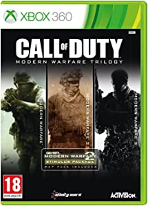 Call Of Duty Modern Warfare Trilogy (Xbox 360) by Activision