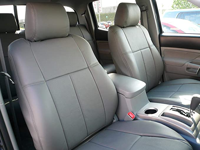 Grey Clazzio AP701521gry PVC Seat Cover Dodge Ram, Front Only