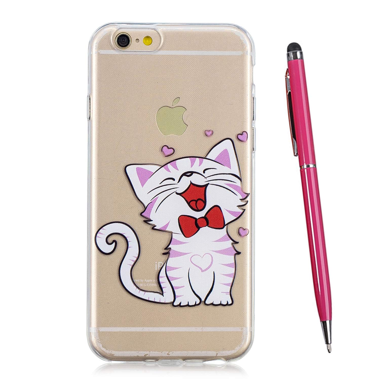 TOUCASA Funda iPhone 8 Funda iPhone 7 Glitter Super Delgado y