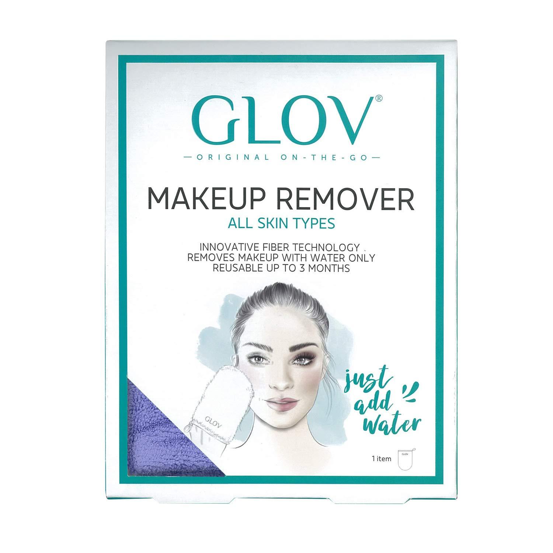 GLOV On The Go, Desmaquillante Facial, Limpiador Facial solo con Agua, Paño Demaquillante Riutilizable hasta 3 meses, Toallita Limpiador de Maquillaje Solo ...
