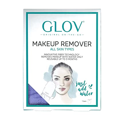 GLOV On The Go, Desmaquillante Facial, Limpiador Facial solo con Agua, Paño Demaquillante