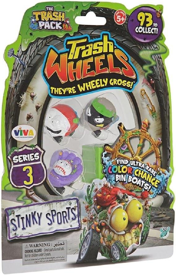 Giochi Preziosi 70684081 - Trash Pack de Basura Monster Ruedas 3.4 Coches, el tráfico de Transporte: Amazon.es: Juguetes y juegos