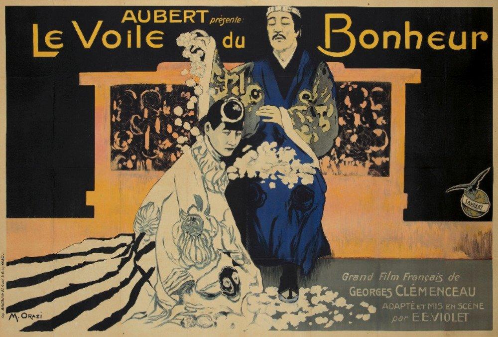 Le Voile De Bonheurヴィンテージポスター(アーティスト: Orazi )フランスC。1927 16 x 24 Giclee Print LANT-72791-16x24 B01CXXKRY0  16 x 24 Giclee Print
