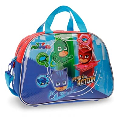 PJ MASKS Ready for Action - Travel Bag - 15.7 Inches - Multicolor