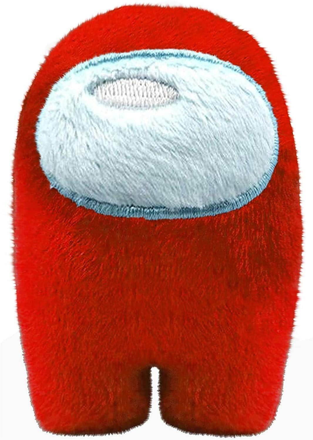 Pink/&Orange 2PCS Soft Plush Among Us Plush Among Us Game Plush Toy with Sound Kawaii Cute Stuffed Doll Astronaut Small Among Us Plushie