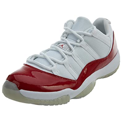 NIKE Air Jordan 11 Retro Low - Chaussures de Basket-Ball, Couleur Blanc (