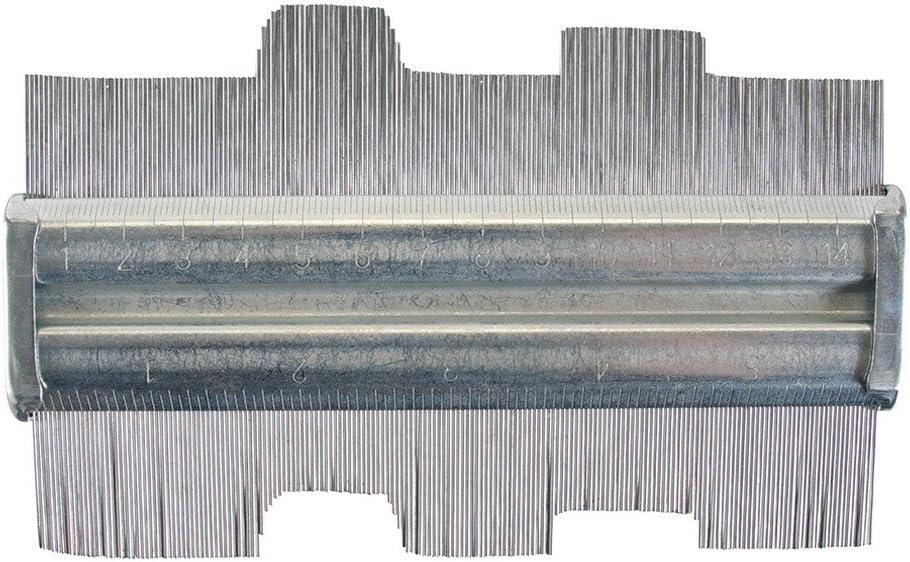 Amtech profilé métallique Contour Jauge 125 mm Carrelage Stratifié Marquage Modèle Outil