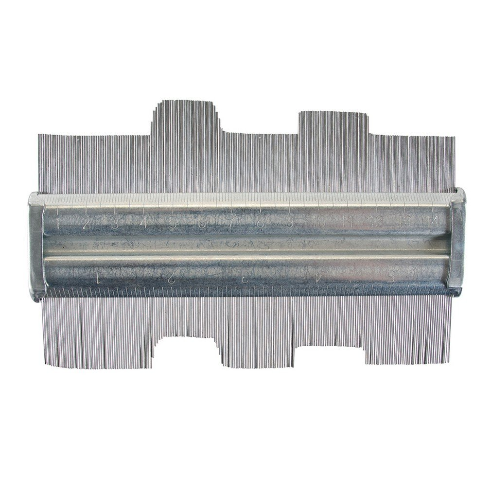 Silverline 598573 Jauge de profil en acier 15 cm