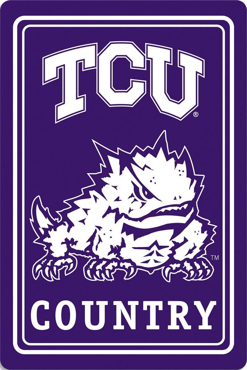 BSI NCAA Metal Sign