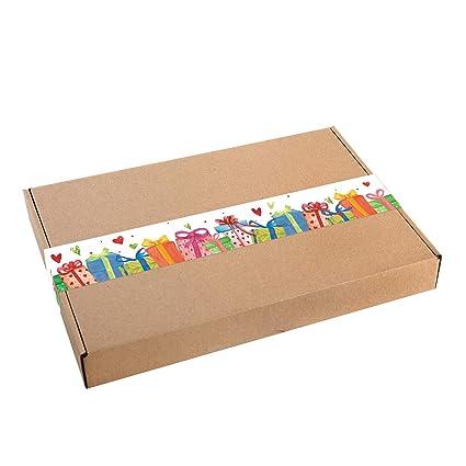 Logbuch-Verlag - Caja de regalo grande de papel de estraza ...