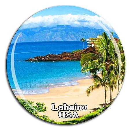 Weekino Kaanapali Beach Lahaina America EE. UU. Imán de Nevera ...